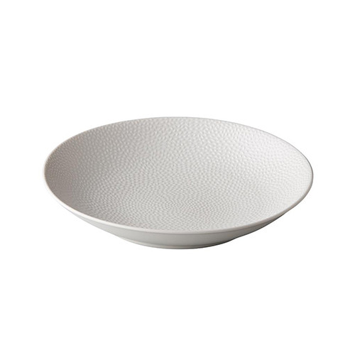 Diepbord reliëf, wit Ø 25,5 cm