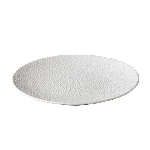 Dinerbord reliëf, wit Ø 27,5 cm