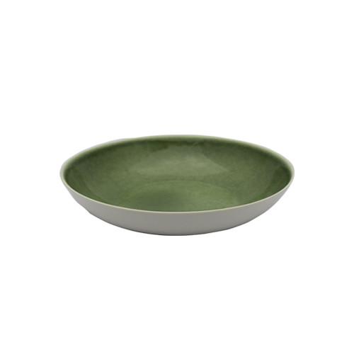 Diep bord Chrome Green Ø 21 cm