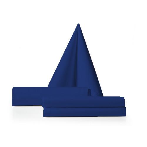 Servet donker blauw
