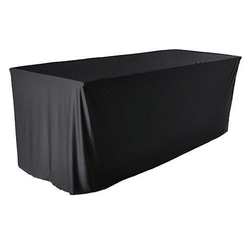Tafelhoes zwart  laken en rok aaneen