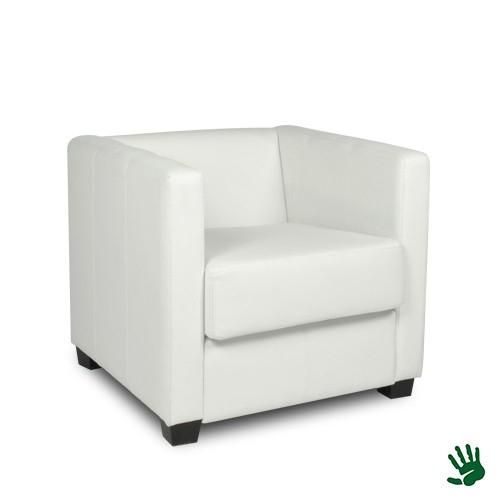 White Heaven kunstlederen fauteuil