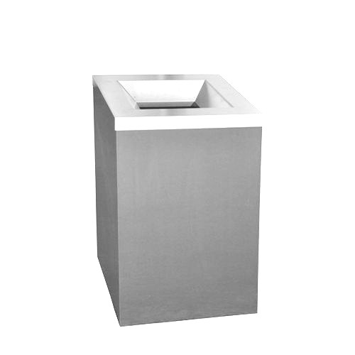 Afvalbak RVS 110 liter