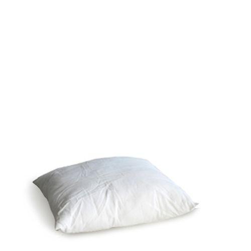 Kussen wit stof 40x40 cm.