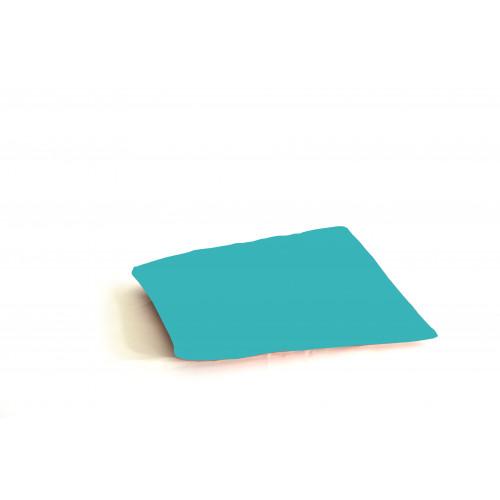 Kussen groen/blauw, lxb 45x45 cm