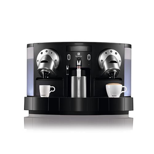 Koffiezetapparaat Nespresso, melkopschuimer, dubbel systeem