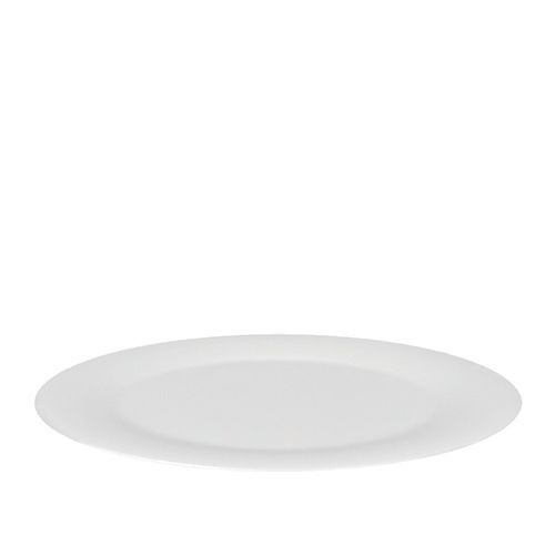 Schaal melamine wit, Ø 48 cm.