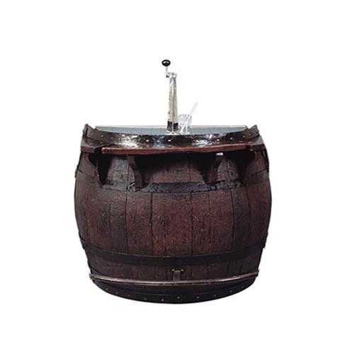 Biertap installatie in wijnvat groot