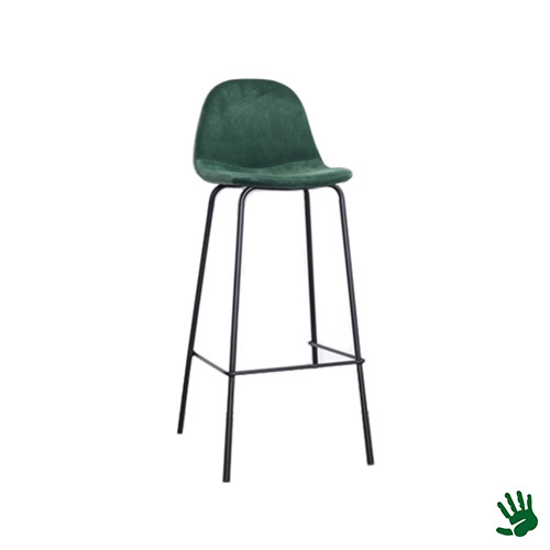 Home - Kruk, forest green, velvet