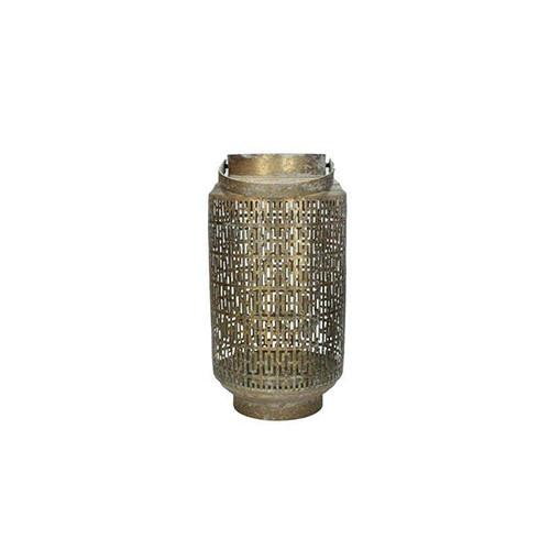 Lantaarn, metaal goud