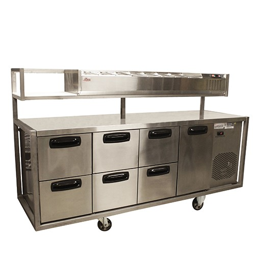 Keukenkoel werktafel