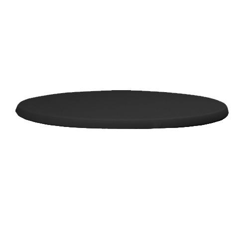 Topkleedje strak zwart