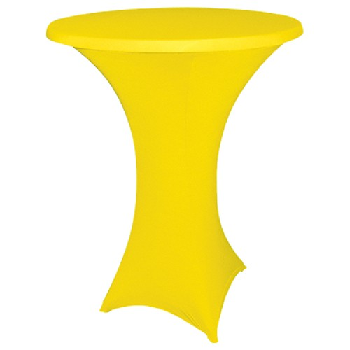 Statafelhoes strak, geel