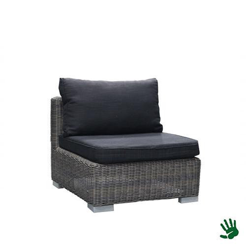 Asian Lounge stoel, antraciet