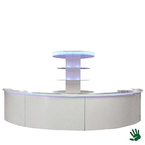 Unow halfronde bar met LED verlichting