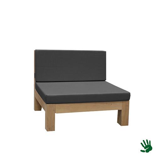 Oak Outdoor loungestoel, grijs