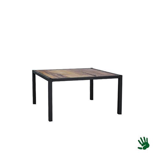 Hot Metal loungetafel, hout