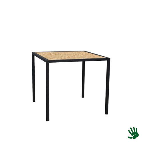 Hot Metal zittafel, OSB, klein