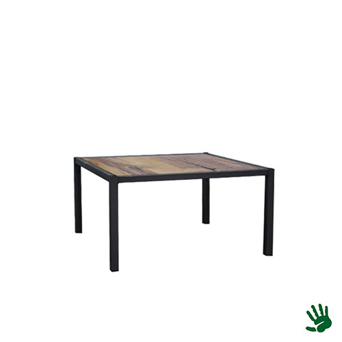 Hot Metal salontafel, hout, klein