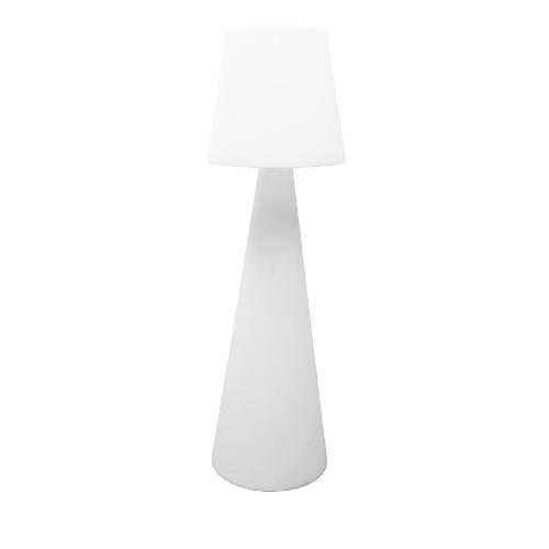 Lamp Pivot wit kunstof, met LED verlichting