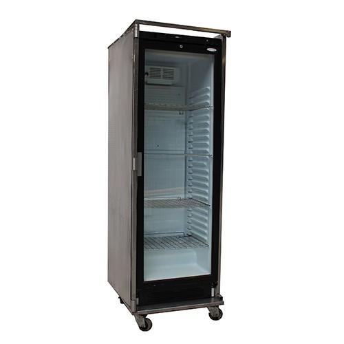 Koelkast met glazen deur, 380 liter   Apparatuur   H u00e9man horecaverhuur