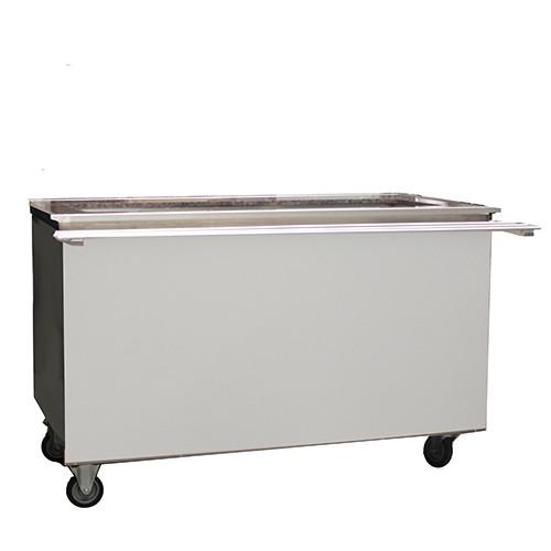 Uitgifte buffet koud 4x 1/1 GN, incl. onderkoeling