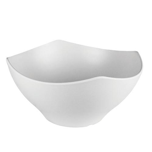 Melamine kroon wit, Ø 35 cm.