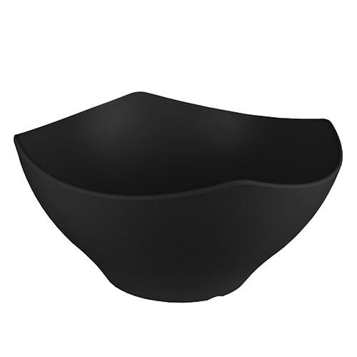 Melamine kroon zwart, Ø 35 cm.