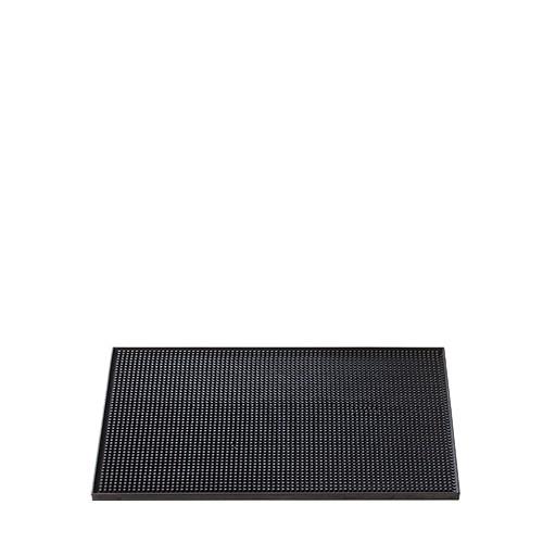 Barmat zwart, lxb 30x15 cm.