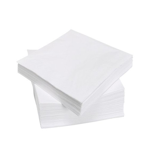 Servetten blanco, 24×24 cm.