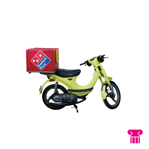 Domino's Pizza scooter
