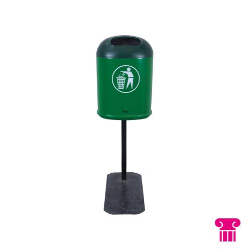 Afvalbak groen (decoratie)