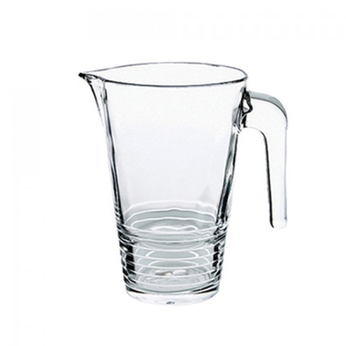 Karaf glas, 1 liter.