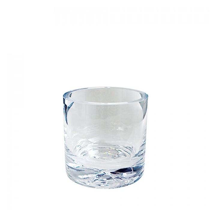 Bestekpot glas voor theelepels, klein