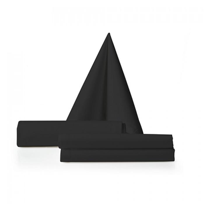 Servet zwart