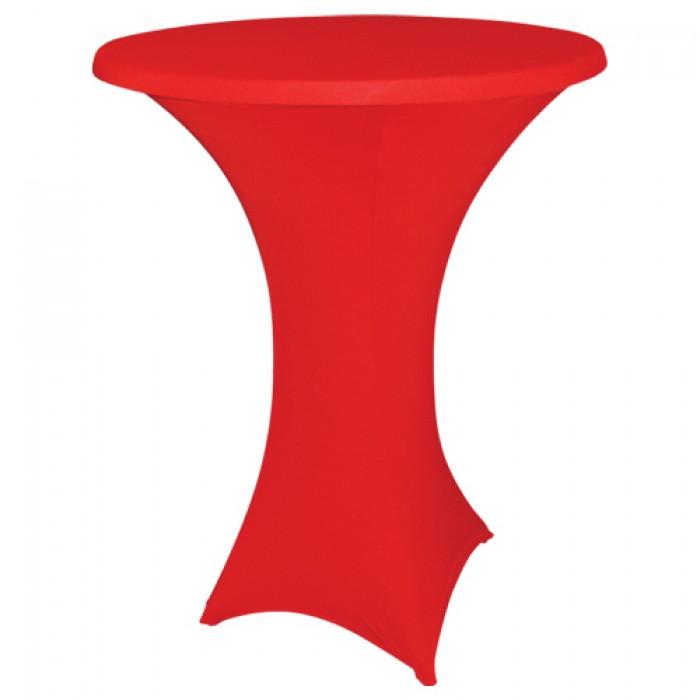 Statafelhoes strak, rood