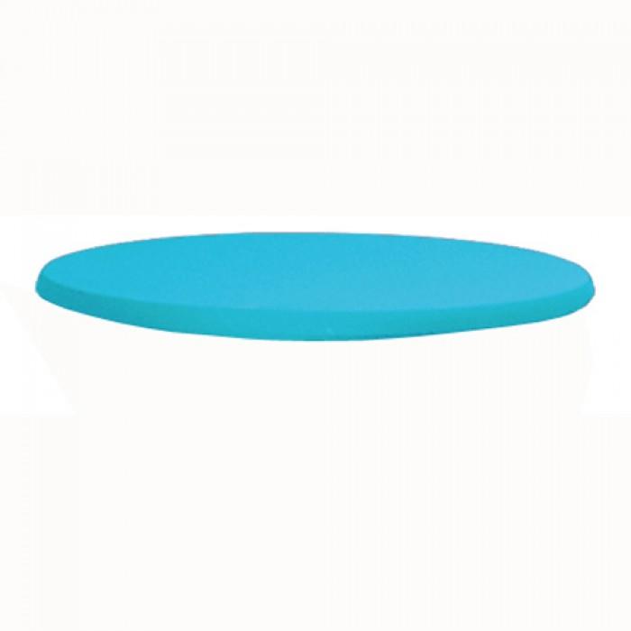 Topkleedje strak, turquoise