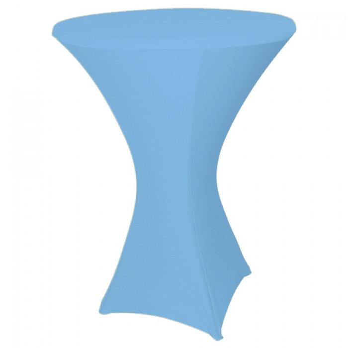 Statafelhoes strak licht blauw