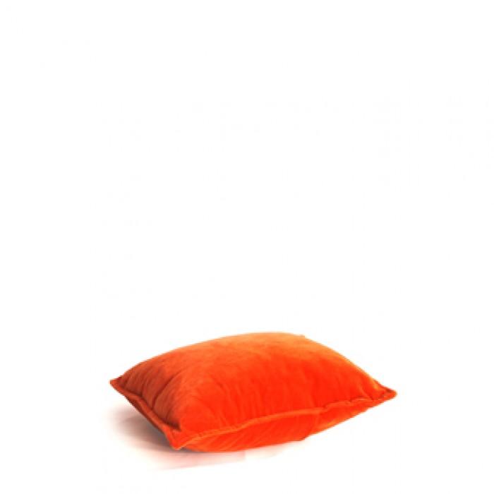 Kussen, oranje velours