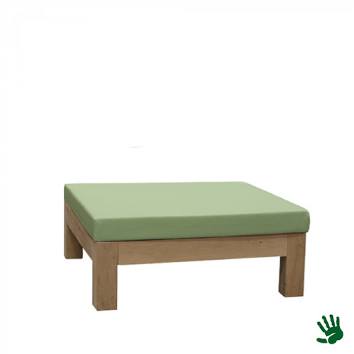 Oak Outdoor loungepoef, mintgroen