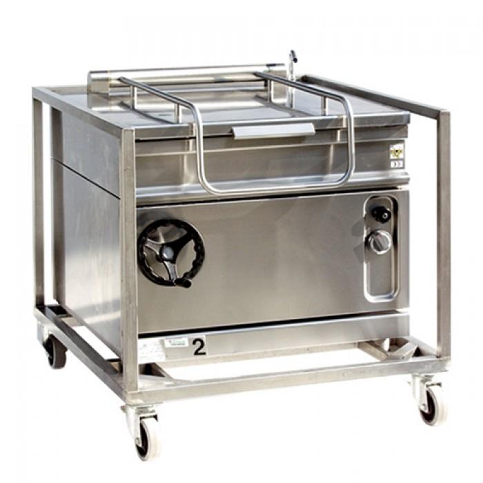 Kantelbare braadpan, 100 liter