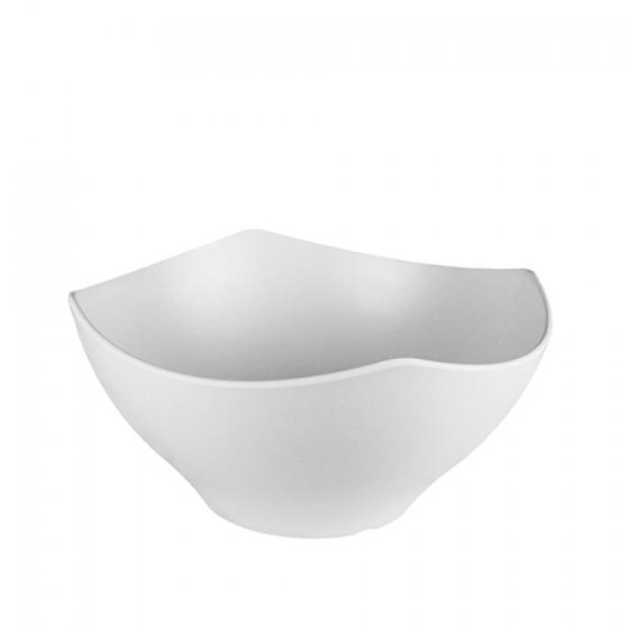 Melamine kroon wit, Ø 28 cm.
