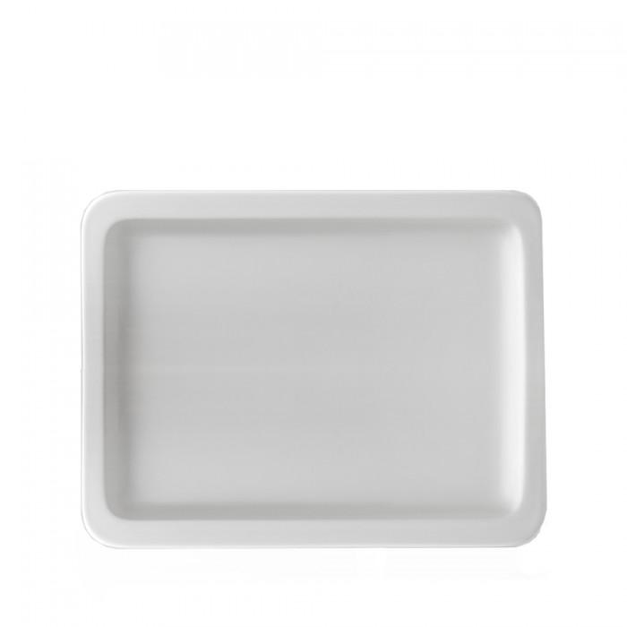 Chafingdish schaal porselein plat, 1/2 GN