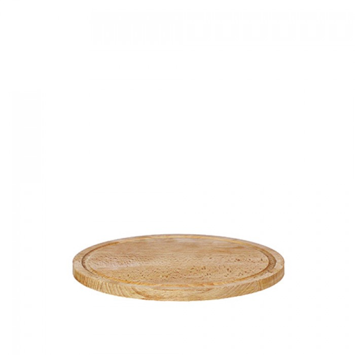 Steakplank rond, Ø 30 cm.