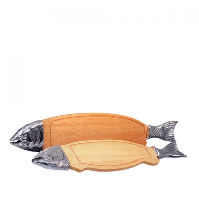 Zalmplank, 100 cm.