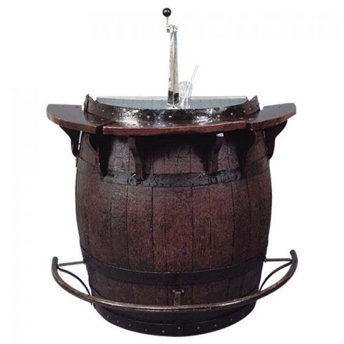Biertap installatie in wijnvat