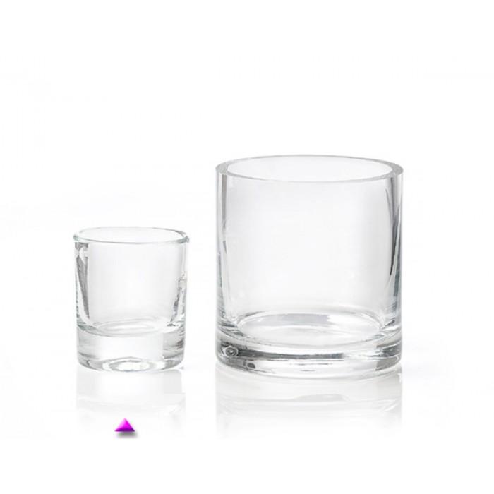 Bestekpot glas voor theelepels