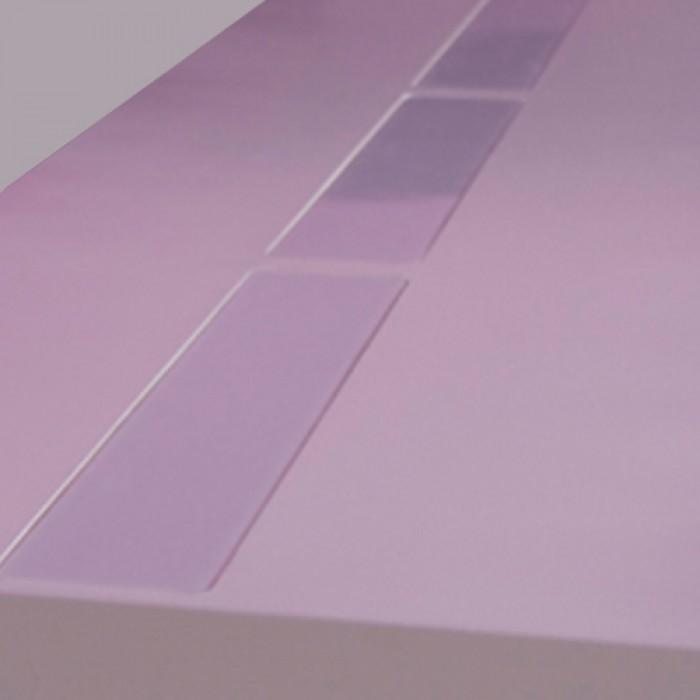 Highlight zittafel wit, zonder LED verlichting