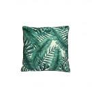 Kussen bladeren, groen, 60x60 cm