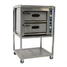 Pizza oven, 2 laags, 380V-32A